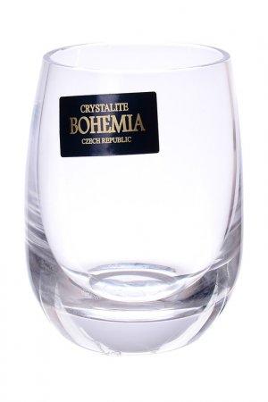 Набор стопок для водки, 6 шт Crystalite Bohemia. Цвет: прозрачный