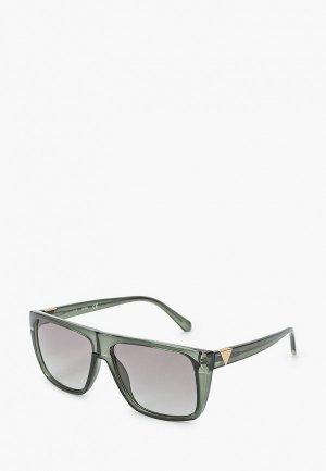 Очки солнцезащитные Guess. Цвет: серый