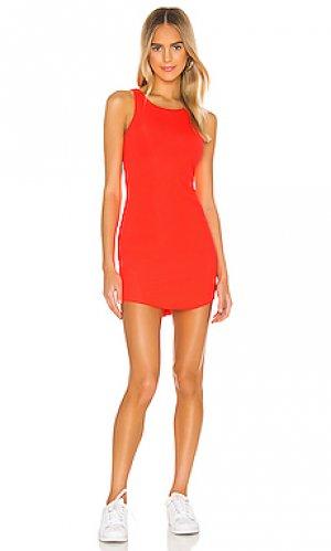 Мини платье daya h:ours. Цвет: оранжевый