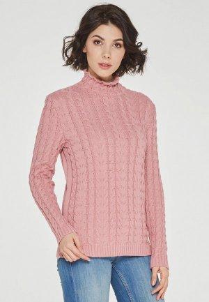 Свитер Vay. Цвет: розовый