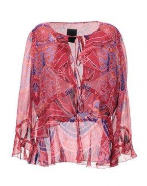 Pубашка ANNA SUI. Цвет: кирпично-красный