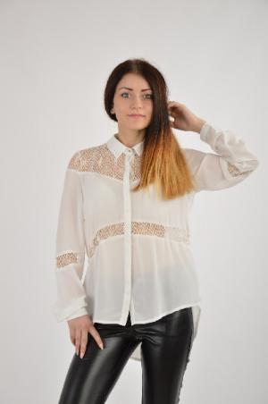 Рубашка Extasy. Цвет: белый