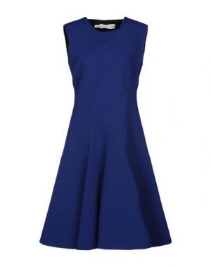Платье до колена AQUILANO-RIMONDI. Цвет: ярко-синий