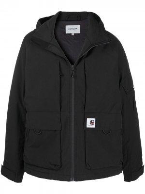 Куртка Bode с капюшоном и нашивкой-логотипом Carhartt WIP. Цвет: черный