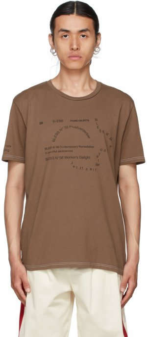 Brown Nº69 Lost In Contemplation Multicollection II T-Shirt Bless. Цвет: skintone 2