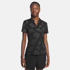 Женская рубашка-поло для гольфа Dri-FIT Victory - Черный Nike