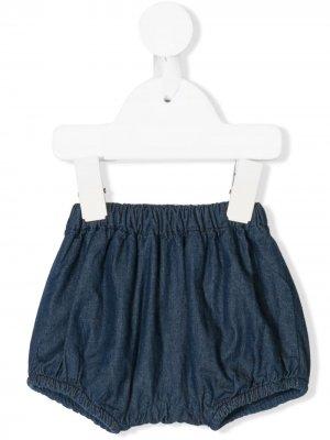 Панталоны из денима Knot. Цвет: синий