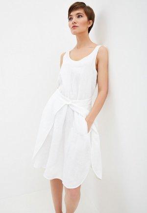 Платье Emporio Armani. Цвет: белый