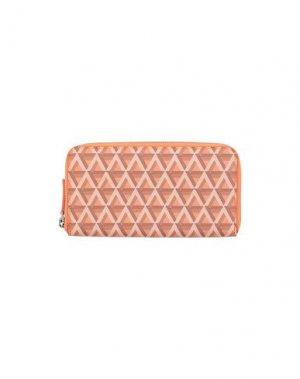 Бумажник LANCASTER. Цвет: оранжевый