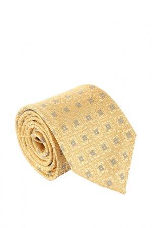 Галстук Canali. Цвет: золотой
