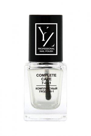 Уход 7-в-1 для ногтей, 7 мл YZ (Иллозур). Цвет: прозрачный