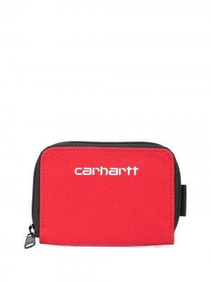 Кошелек Payton с логотипом Carhartt WIP. Цвет: красный