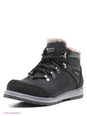 Ботинки FRIENDLY. Цвет: черный