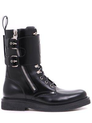 Ботинки кожаные BALMAIN