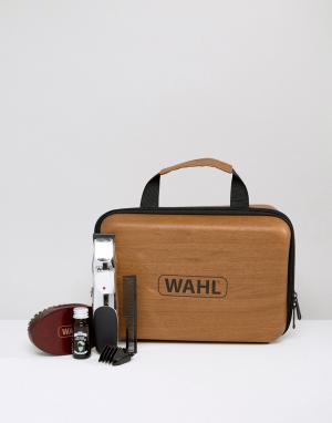 Подарочный набор с заряжаемым триммером для бороды и аксессуарами -Бесцветный Wahl