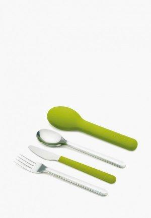 Набор столовых приборов Joseph GoEat Cutlery Set. Цвет: зеленый