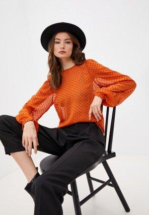 Блуза InWear. Цвет: оранжевый