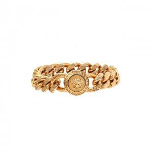 Браслет Versace. Цвет: золотой