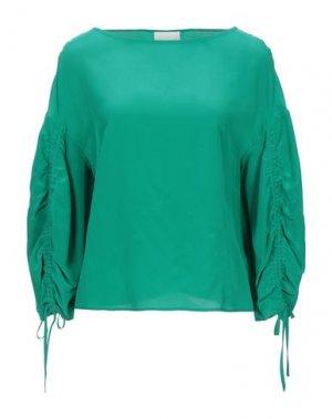 Блузка GOTHA. Цвет: зеленый