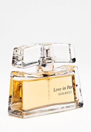 Парфюмерная вода Nina Ricci Love In paris 30 мл. Цвет: белый