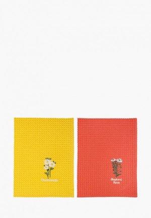 Набор полотенец кухонных Bellehome Душистые травы, 50х70 см