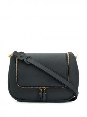 Мягкая сумка сэтчел Vere Anya Hindmarch. Цвет: синий