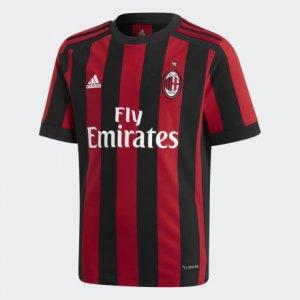 Домашняя игровая футболка ФК Милан Performance adidas. Цвет: красный