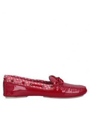 Мокасины ARFANGO. Цвет: красный