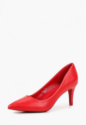 Туфли Sweet Shoes. Цвет: красный
