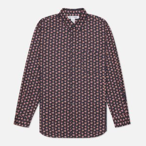 Мужская рубашка Floral Print Comme des Garcons SHIRT. Цвет: чёрный
