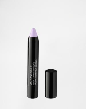 Корректирующий цвет лица карандаш Japonesque. Цвет: зеленый