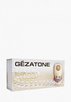Массажер для лица Gezatone m365 Biolift  микротоковой терапии. Цвет: бежевый