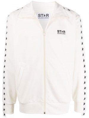 Спортивная куртка Star Collection Golden Goose. Цвет: белый