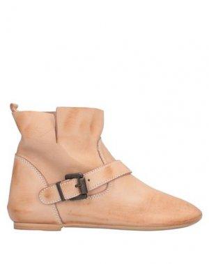 Полусапоги и высокие ботинки CAFèNOIR. Цвет: песочный