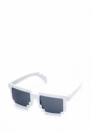 Очки солнцезащитные Maskbro. Цвет: белый