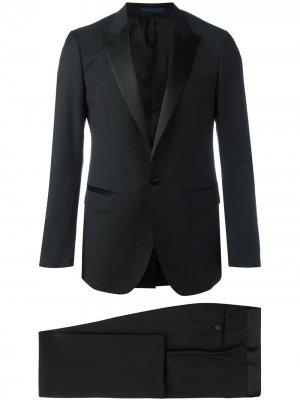 Классический брючный костюм LANVIN. Цвет: черный