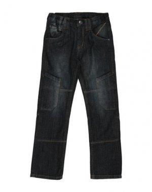 Джинсовые брюки BLUE SEVEN. Цвет: синий