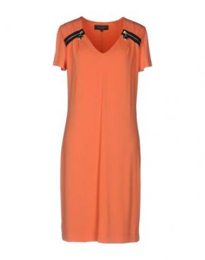 Короткое платье ANNA RACHELE BLACK LABEL. Цвет: оранжевый