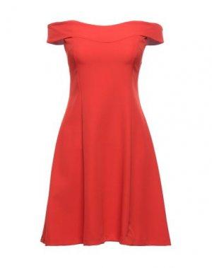 Короткое платье FLY GIRL. Цвет: оранжевый