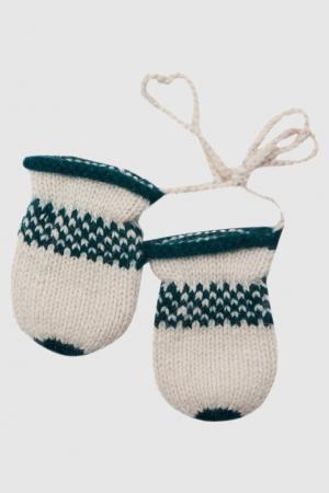 Варежки Frosty Caramel Baby&Child. Цвет: зеленый