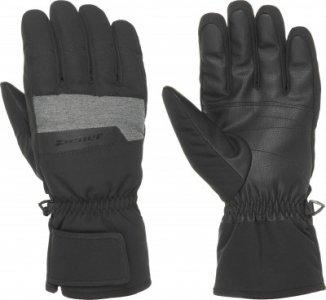 Перчатки мужские , размер 10 Ziener. Цвет: черный