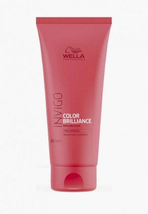 Бальзам для волос Wella Professionals INVIGO COLOR BRILLIANCE защиты цвета, 200 мл. Цвет: белый
