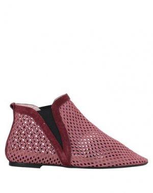 Полусапоги и высокие ботинки NEVER EVER. Цвет: пастельно-розовый