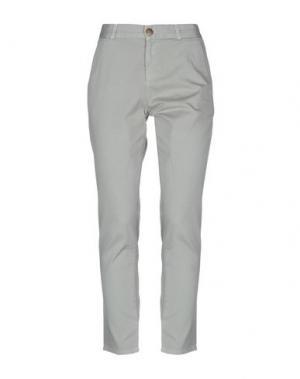 Повседневные брюки CURRENT/ELLIOTT. Цвет: серый