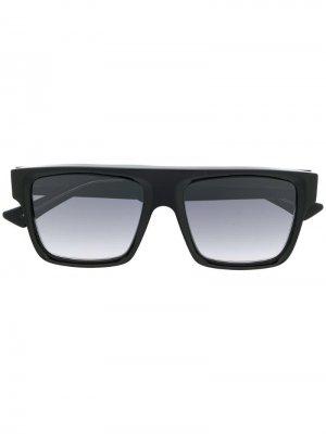Солнцезащитные очки-авиаторы Cutler & Gross. Цвет: черный