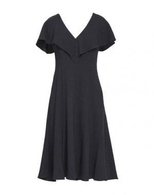 Платье до колена BLACK HALO. Цвет: стальной серый