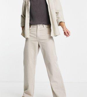 Расклешенные плотные джинсы цвета экрю COLLUSION x008-Белый