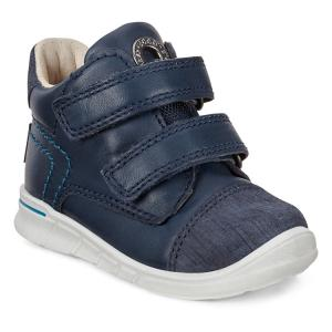 Ботинки FIRST ECCO. Цвет: синий