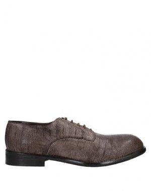 Обувь на шнурках JP/DAVID. Цвет: голубиный серый