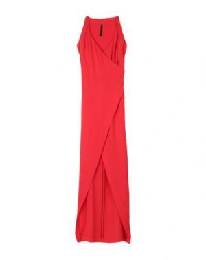 Длинное платье GARETH PUGH. Цвет: красный